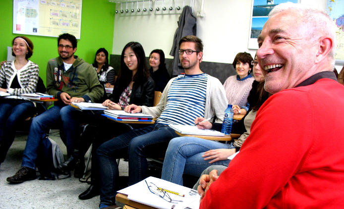 A Spanish class