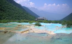 黄龙 (Huanglong Nature Reserve)