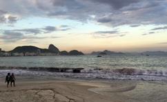 Atardecer em Copacabana