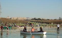Barca en Versalles
