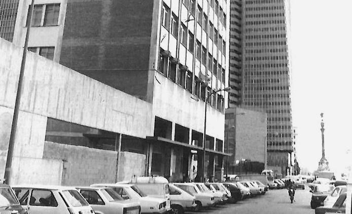 The EOI Barcelona Drassanes at the beginning of the 70s
