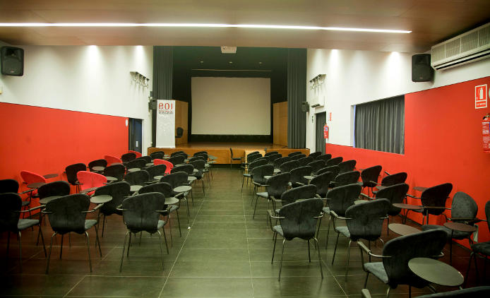 Lecture Hall, main building (av. Drassanes 14)