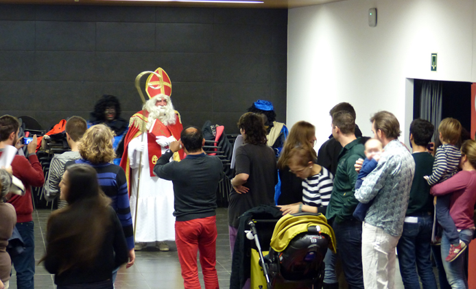 Sinterklaas visits the EOIBD